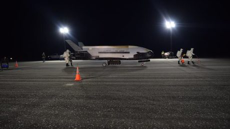 Secretive Air Force X-37B space plane will take off in May and spend more than two years in space
