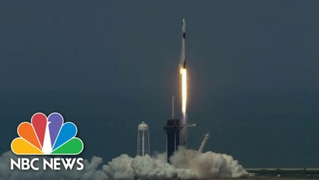Liftoff! SpaceX Launches First Crewed Mission To International Space Station | NBC News
