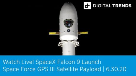 Watch Live! SpaceX Falcon9 Launch Putting A Space Force GPS Satellite Into Orbit