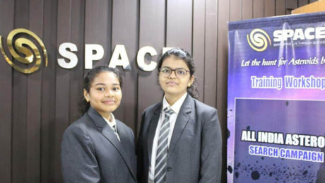 2 high school girls in India discover asteroid moving toward Earth while working on project with NASA