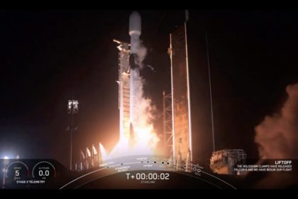 SpaceX launches 57 more Starlink satellites, lands rocket at sea