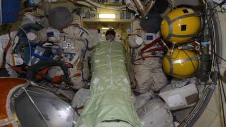Space station crew spend extra night in Russian segment as air leak investigation continues