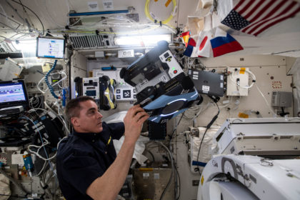 NASA Astronaut Aboard Space Station to Answer Questions from Student